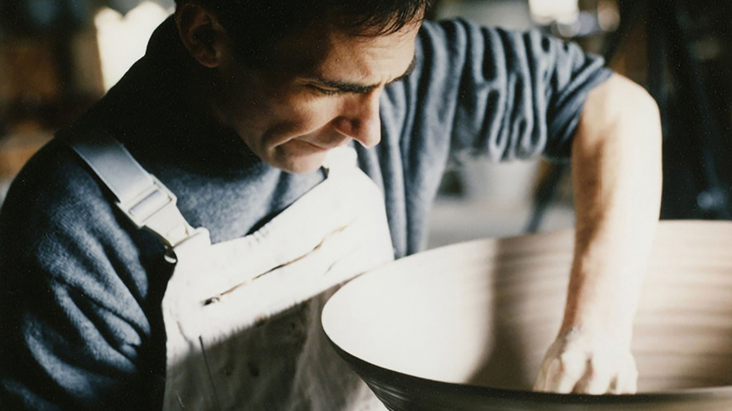 A Man in his Elements: Rupert's pottery process
